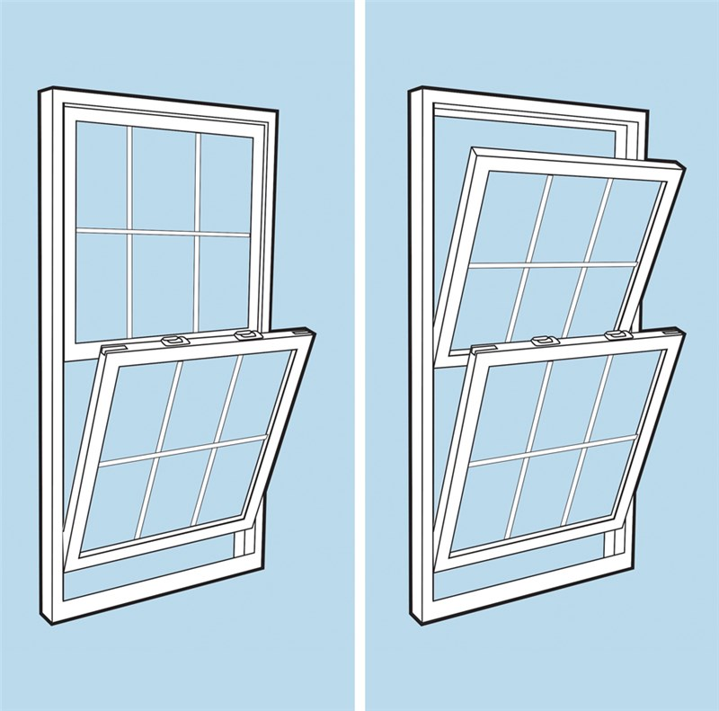 Single Hung Windows Autocad : Window style double hung vs single windows
